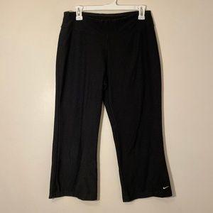Nike | Black Workout Capris Size M
